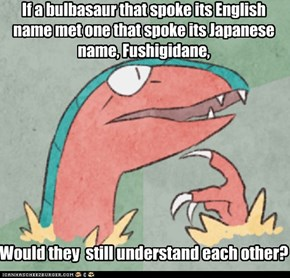 Bilingual Pokemon