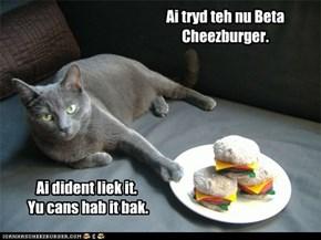 Even veggie burgers taste better