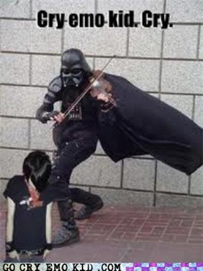 Vader Is Such a Jerk