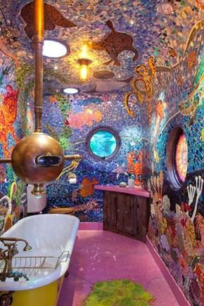 Underwater Bathroom Adventure