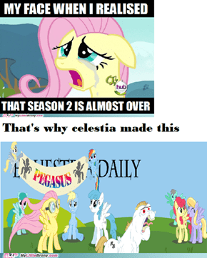 Celestia save you equestria daily!