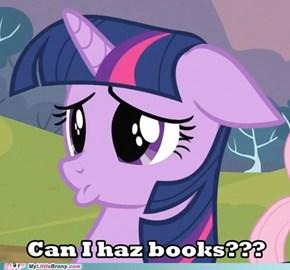 Can I haz books?