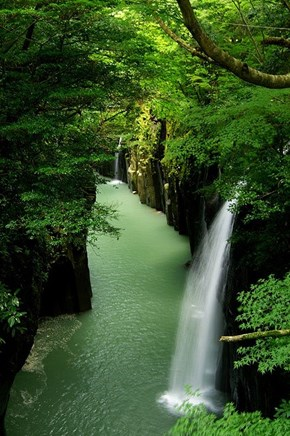 Waterfall Canyon, Takachiho, Japan