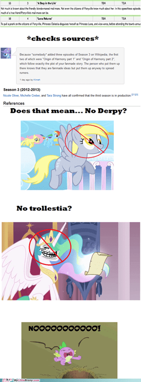 There Will Be No Derpy Episode