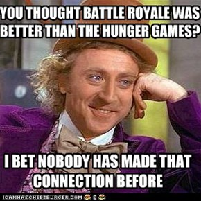 The Battle Royale Games