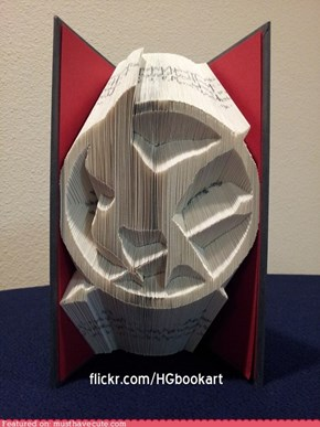 Hunger Games Folded Book Art