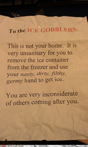 """Ice Gobblers"" Eh?"