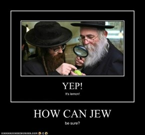 HOW CAN JEW