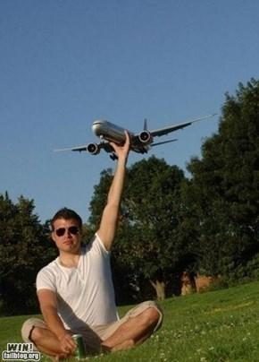 Grabbing a Plane WIN