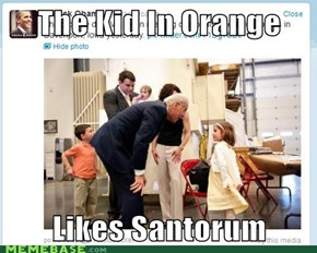 the kid in orange