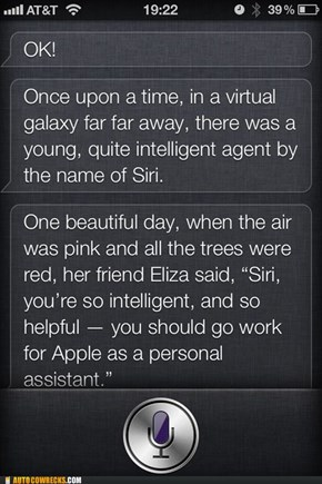 Siri Wars Episode III: A New Phone
