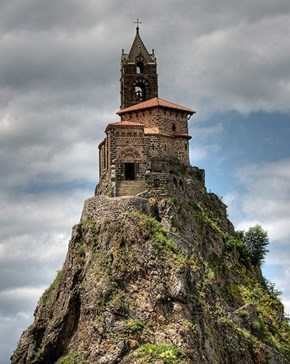 Saint-Michel d'Aiguilhe Chapel, Le Puy-en-Velay, France