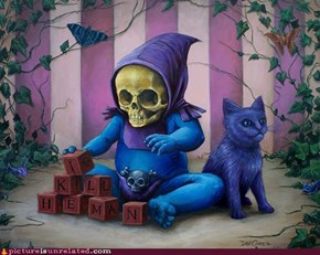 Baby Skeletor