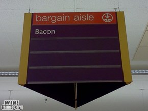 Bacon On Sale Win
