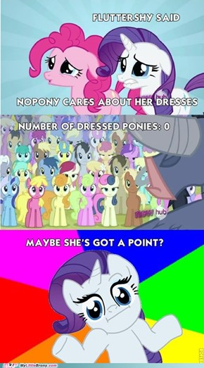 Fluttershy's Accusation a Little Too Truthful?