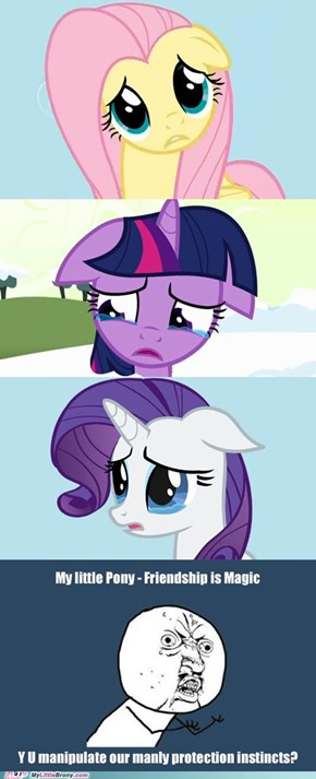 Cuteness + sad Pony faces