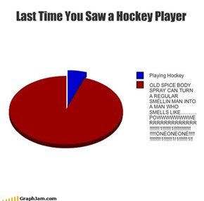 Last Time You Saw a Hockey Player