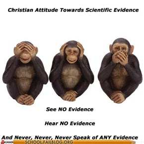 Evidence is For Chumps!