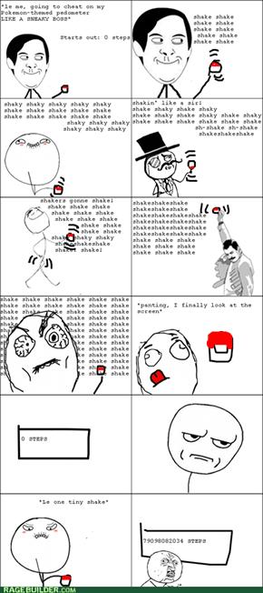 Pedometer Troll?