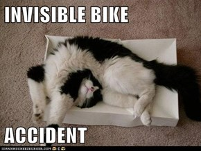 INVISIBLE BIKE  ACCIDENT