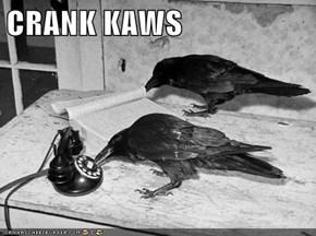 CRANK KAWS