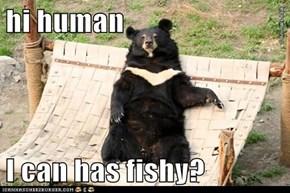 hi human  I can has fishy?