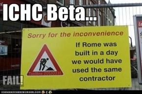 ICHC Beta...
