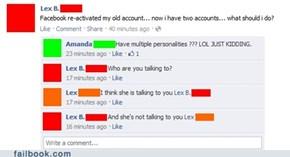 Lex needs help.