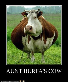 AUNT BURFA'S COW
