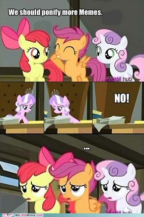 But What if That Gives Us Our Cutie Marks