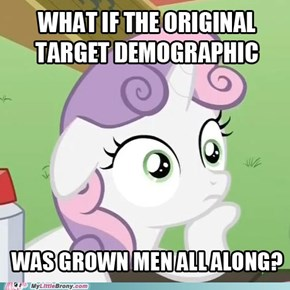 Sudden Realization Sweetie Belle