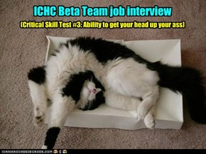 ICHC Beta Team job interview