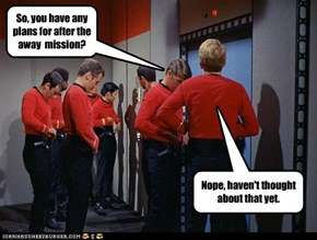 Small talk aboard the Enterprise