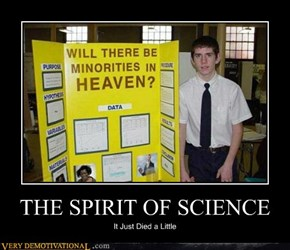 THE SPIRIT OF SCIENCE