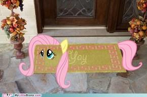 Doormat Fluttershy