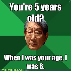 MEME MADNESS: High Expectations Asian Dad