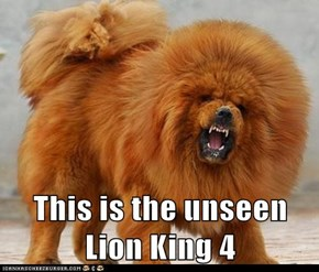 This is the unseen Lion King 4