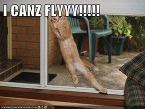 I CANZ FLYYY!!!!!