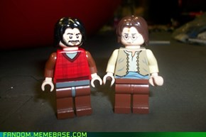Lego Happy McBeardy and John