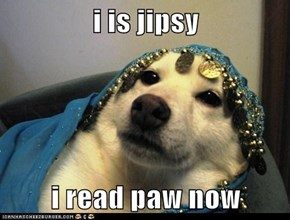i is jipsy  i read paw now
