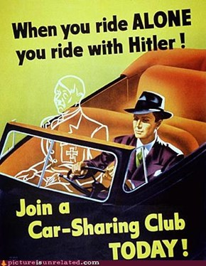 Use the Carpool Lane, or the Nazis Win