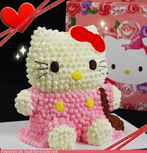 Epicute: Hello Kitty Cake