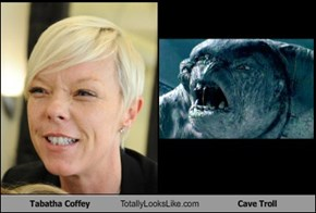 Tabatha Coffey Totally Looks Like Cave Troll