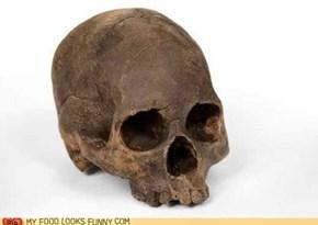 Chocolate Human Skull