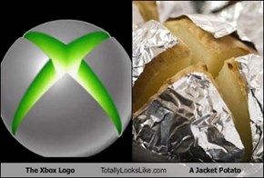 The Xbox Logo Totally Looks Like A Jacket Potato