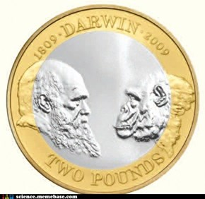 Two Pounds for Evolution!