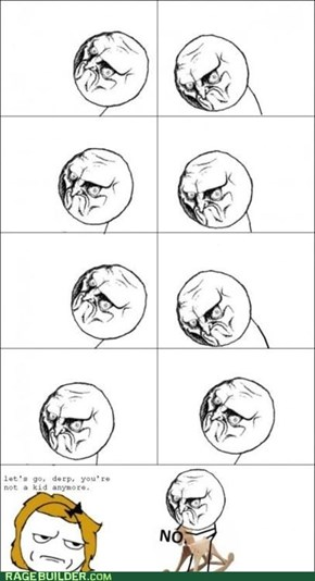 Rage Comics: I'm Trying to Hold On to My Youth
