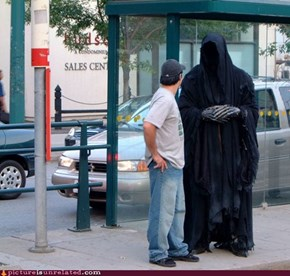 The Nazgûl Had No Success in Finding Frodo on the Bus