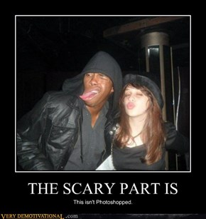 THE SCARY PART IS