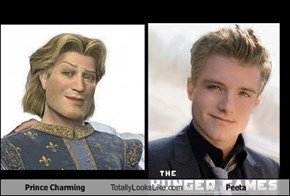 Prince Charming Totally Looks Like Peeta